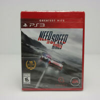 Need for Speed: Rivals Sony PlayStation 3, PS3 EA  Factory Sealed!!   SEE VIDEOS
