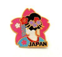 Parche japan japonesa asia geisha embroired tokio ropa rosa patch mujer bordado