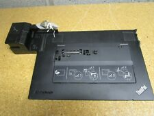 Lenovo ThinkPad 4338 Dock Laptop 4338-10U Charging Docking Station W/ 2 Keys