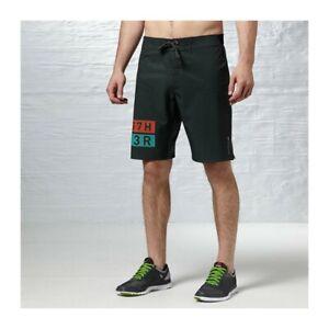 WOW Reebok Crossfit DT ONE Mens Training Shorts Size XL Z89398 Zip Pocket B71