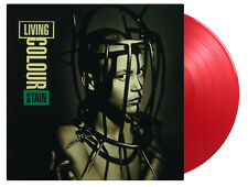 LIVING COLOUR - STAIN NUMBERED RED VINYL LP NEW MINT PRE-ORDER 22.1.2021