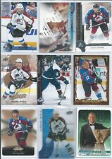 Jarome Iginla  All Different  35- Insert Base Card Lot  w/High End  Lot 1