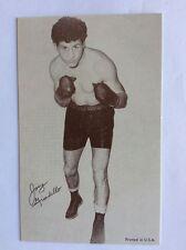 Vintage 1960's Boxing Exhibit Supply Co.Card * Boxer Joey Giardello CHAMP