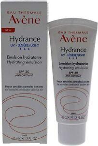 Avène Hydrance UV-Light Hydrating Emulsion SPF30 Moisturiser 40ml