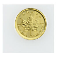 2018 Canada 1/10 oz Gold Maple Leaf $5 Coin GEM BU Mint Sealed SKU49805