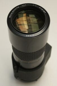 Nikon 200mm f/4 Micro-NIKKOR AI-s Lens