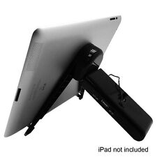 "Hype Stereo 3.5mm Speaker 10.1"" iPad,Tablet & Cell Phone Adjustable Tripod Stand"