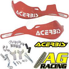 Acerbis Rally Pro Red Handguards Mount Kit Motocross Enduro Honda CR CRF XR XL