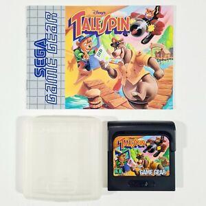 ©1993 Disney/SEGA Game Gear TALESPIN Jump'n Run/Action Adventure/Balu/Kinder