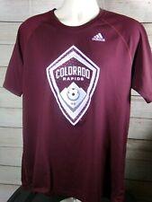 Colorado Rapids Adidas  MLS Soccer T-shirt X Large