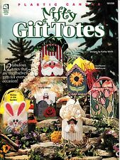 Plastic Canvas Nifty Gift Totes by Kathy Wirth (1998)