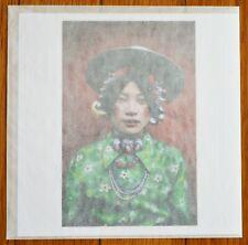 Firmado - Steve Mccurry Young Mujer Tibet 1999 Limitada 15.2cm x Magnum Archivo