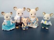 SYLVANIAN FAMILIES BUCKLEY RED DEER FAMILY WITH BABY EPOCH CALICO CRITTERS
