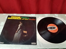 """Record Dionne Warwick in """"Valley of the Dolls"""" Vinyl Lp 1968 Free Ship"""