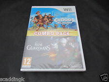 Dreamworks The Croods & Rise of Guardians PAL Format Nintendo Wii