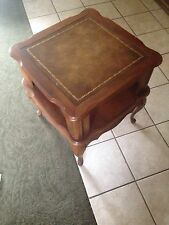 French Provincial Furniture- Set Of End Tables- 1960's Euc