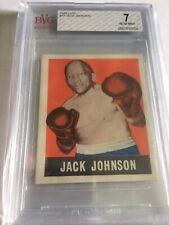 1948 Leaf Boxing Jack Johnson #17 BVG 7