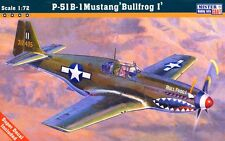 P 51 B-1 MUSTANG 'BULL FROG I' (USAAF ACES MARKINGS)1/72 MASTERCRAFT