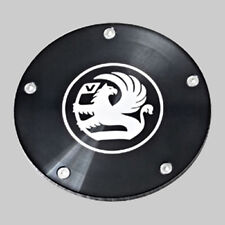 Richbrook Vauxhall Classic Old Logo Tax Disc Disk Holder Twist Off Black