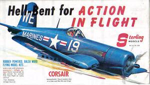 Sterling Aircraft Models Corsair Curtiss Fokker Piper original Sales Brochure