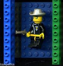 Lego--Figur--Western--Sheriff--mit Hut und Pistole-