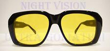 Ultra Goliath II / 2 Sunglasses BLACK / YELLOW Ocean's 11 Casino Robert De Niro