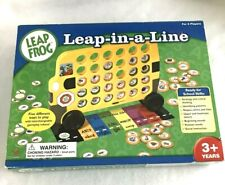 Leap In A Line Learning Bus,Game Brd, Education, Shape Color Letter Gm4