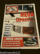 CBW - COACH & BUS WEEK #217 - MEGA CAPACITY - MEGA LENGTH - MAY 11 1996