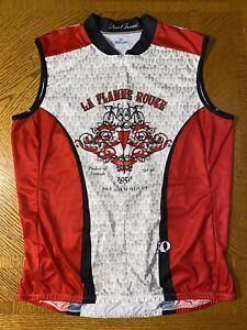 Pearl Izumi La Flamme Rouge Cycling Jersey Full Zipper Sleeveless Mens XXL