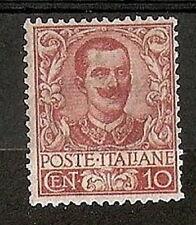1901 REGNO EFFIGIE 10 CENT MH * - RR7433