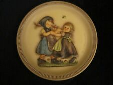 """1980 Hummel Anniversary collector plate Spring Dance 10"""" 2nd edition Goebel"""