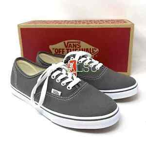 VANS Women's Authentic Lo Pro Canvas Pewter Grey Sneakers Sizes 8-9 VN000GYQ195