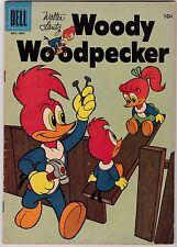 Walter Lantz Woody Woodpecker #45 G/VG 3.0 1957 Dell See my store