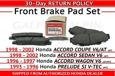 Genuine OEM Honda Accord PRELUDE SI V-TEC V6  Front Brake Pad Set