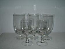 3 Kosta Boda Ice Tea Glasses & 2 Small Wine Glasses Facette ?