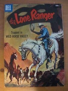 THE LONE RANGER COMIC BOOK - VOL. 1, NO. 102 - DECEMBER 1956 - DELL