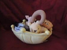 "Disney Classic Winnie the Pooh Tigger Eeyore Piglet Umbrella Plush Hang 10"" Baby"