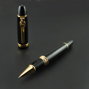 Promotion Jinhao 159 General Black Rollerball Pen Golden Clip