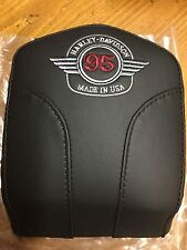 Harley softail dyna fxr sportster 95th anniversary backrest pad 52875-98