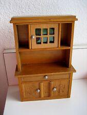 Antique German Schneegas doll house miniature wood Art Deco Craftsman sideboard