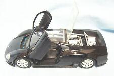 Diecast Collectible Model Car Volkswagen Nardo W12 Show Car 1:24 Black