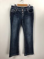 Maurices Thick Stitch Bootcut Jeans Size 5/6