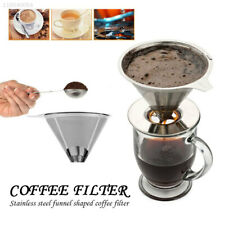 Riutilizzabile acciaio inossidabile maglia filtro caffè POUR su apparecchiature CONO VASCHETTA 1