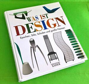 4 Bücher zum Thema 'Design'