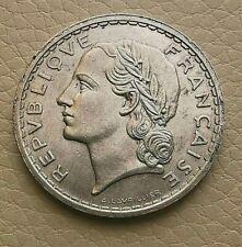N°39  - 5 Francs. 1937 Lavrillier (Nickel) RARE