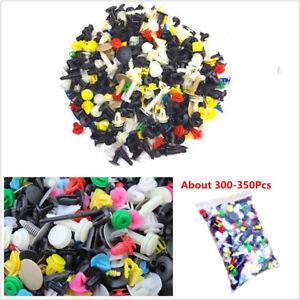 300-350 Pcs High Quality Plastic Mixed Size Car Bumper Door Panel Fastener Clips