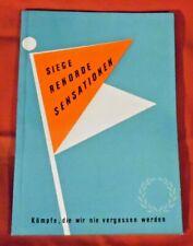 Sammelbilderalbum , Knorr , Siege Rekorde Sensationen , 64 Bilder , 1964