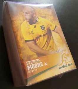 2016 Tap N Play Rugby Union Complete 100 Card Base Common Set