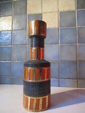 Fratelli Fanciullacci pour Bitossi.Important vase 1950.ht 30cm.Superbe état.