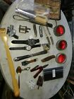 Junk+Drawer+Jewelry+Lot+Misc+Stuff+Vtg+Coins+Knife%2CWatches+